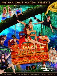 The Jungle Adventure Poster